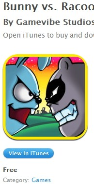 Bunny vs Racoons
