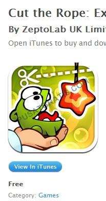 Cut the Rope dan 5 Aplikasi iOS Premium Gratis Lainnya