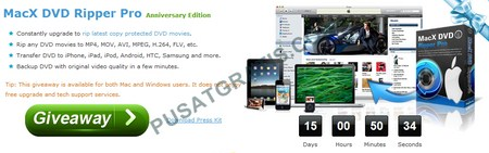 Download MacX DVD Ripper Pro Secara Gratis dan Legal