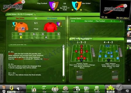 GoalUnited : Game Online Football Manager Gratis yang Seru dan Kaya Fitur