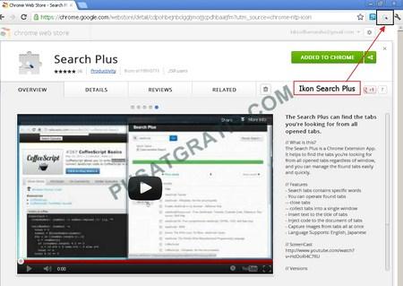 Search Plus: Ekstensi untuk Menemukan Tab Browser yang Anda Cari dengan Cepat!