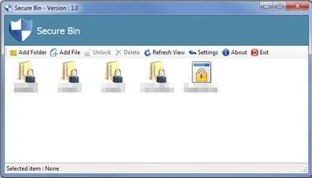 Mengunci File dan Folder dengan Password yang Berbeda Menggunakan Secure Bin