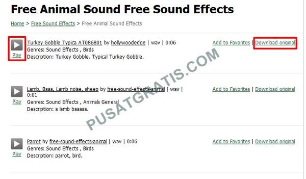 Cara Download Sound Efek Secara Gratis dan Legal