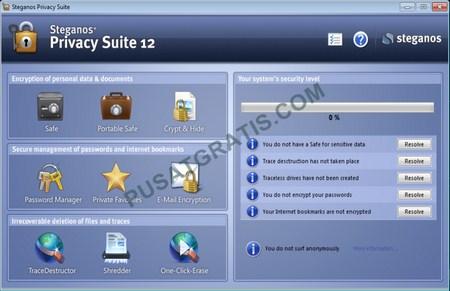 Download Steganos Privacy Suite untuk Menjaga Keamanan Data di Komputer Anda