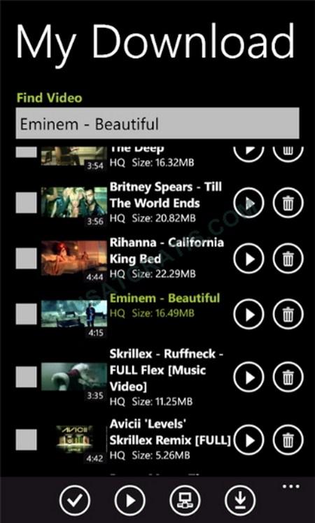 SuperTube - Download Video YouTube Kualitas HD dan HQ Melalui Windows Phone