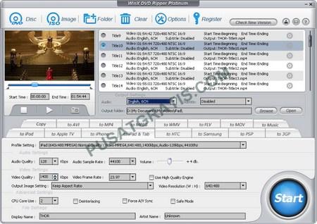 Dapatkan WinX DVD Ripper Platinum secara Legal dan Gratis