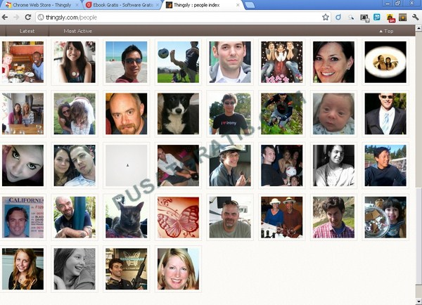 Ekstensi untuk berbagi Gambar serta Konten yang Disukai