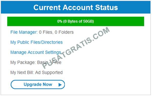 Dapatkan 50GB dari ADrive Bagi yang Masih Haus Akan Cloud Storage