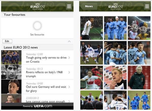 Download Aplikasi Resmi UEFA EURO 2012 secara Gratis