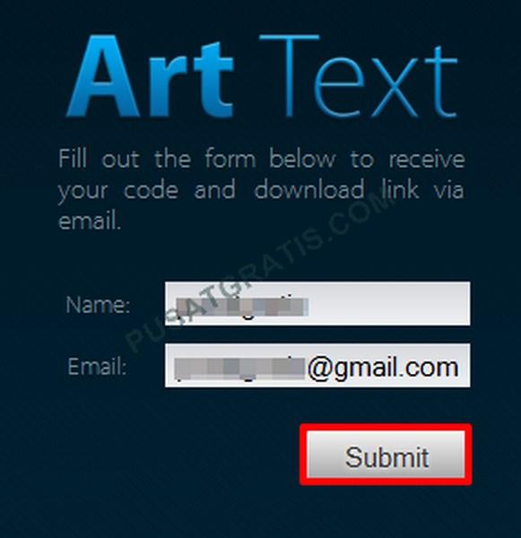 Dapatkan Lisensi Art Text untuk Mac