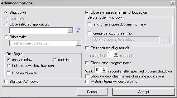 Mematikan PC Otomatis