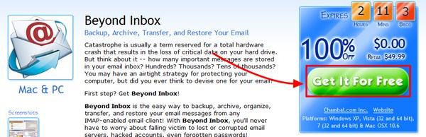 Dapatkan Lisensi Beyond Inbox senilai $49.99