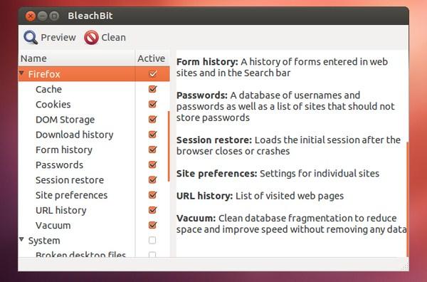 BleachBit : Software CCleaner untuk Linux