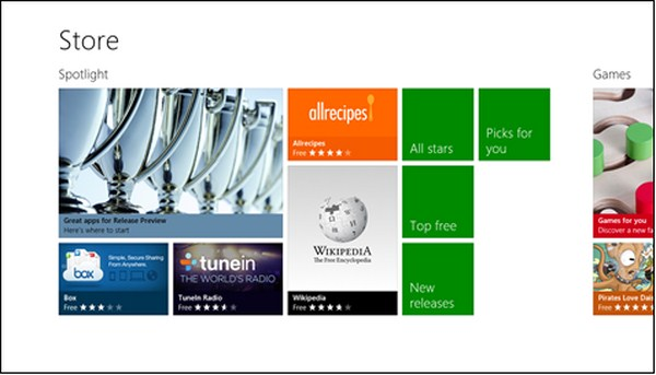 Download Windows 8 Preview Release