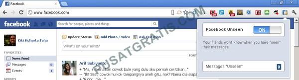 """Mencegah Orang Lain Tahu Bahwa Kamu Telah """"Melihat"""" Pesan Mereka di Facebook!"""