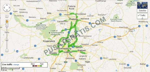 Google Maps Menambahkan Informasi Traffic di 7 Negara Lainnya