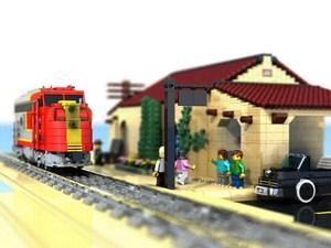 konstruksi lego yang kreatif dan inovatif