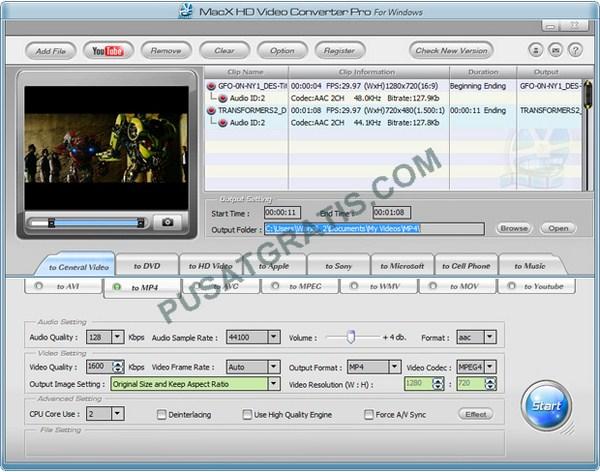 Dapatkan Lisensi MacX Video Converter Pro untuk Windows dan Mac OS