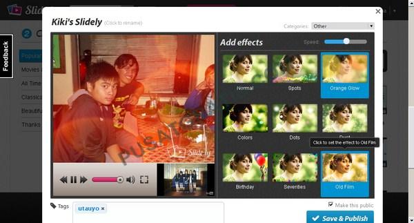 Cara Membuat Slideshow Keren dengan Foto dan Musik dari Jejaring Sosial