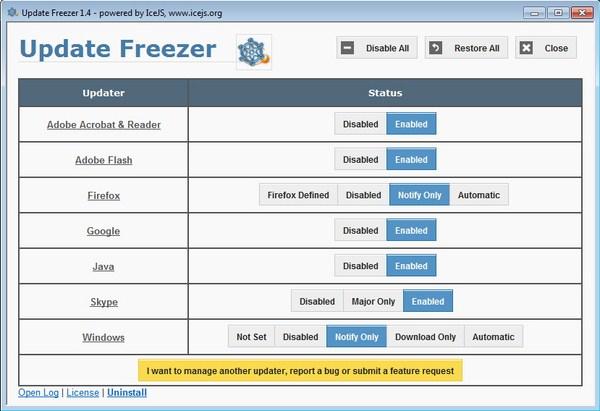 Terganggu dengan Fitur Auto Update? Matikan Saja dengan Update Freezer