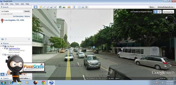 Melihat Keindahan Kota Dengan Fitur 3D di Google Earth