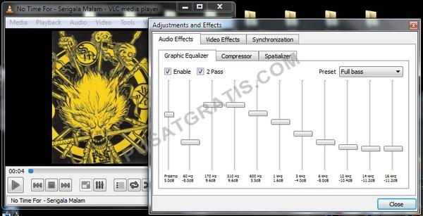 Mainkan Audio Dengan VLC