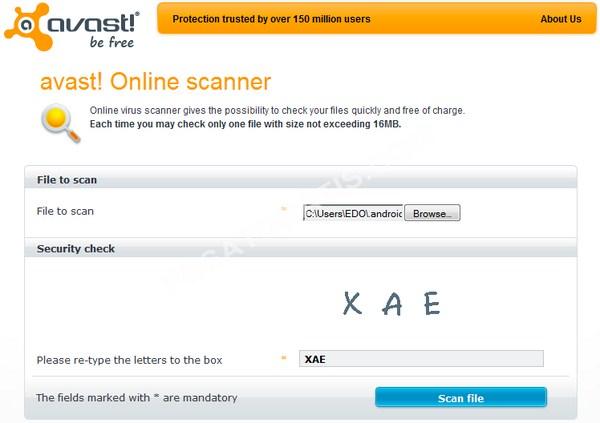Antivirus_Avast_Online_Scan