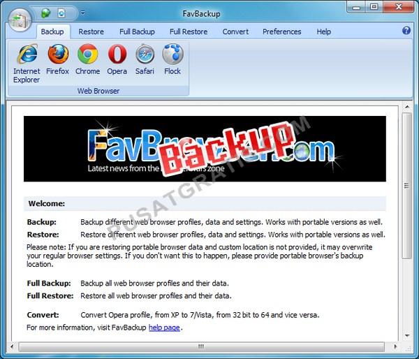 FavBackup