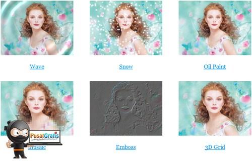 Makeover foto menjadi lucu dengan Funny Photo Maker!
