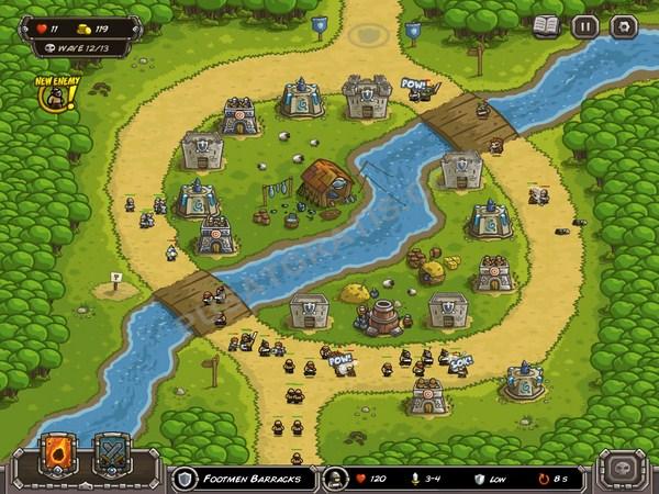 Kingdom Rush: Game Gratis Dengan Animasi yang Unik, Lucu dan Seru!!