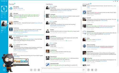 MetroTwit: Bermain Twitter Kini Makin Seru Dengan Tampilan Windows 8 Metro