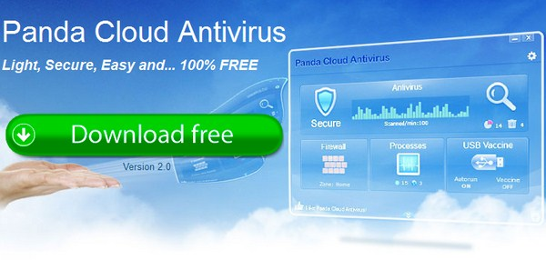 Download Antivirus Terbaru-Panda Cloud Antivirus 2.0