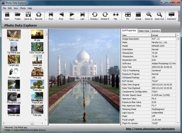 Mengetahui Data Lengkap Tentang Fotomu Dengan Photo Data Explorer
