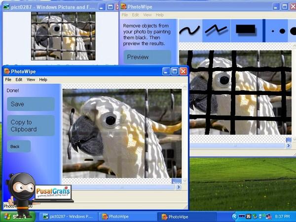 Menghilangkan Bagian Tertentu Di Foto Dengan Menggunakan Photowipe!