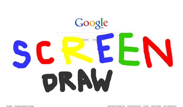 Menggambar Di Firefox Seperti Seniman Dengan Menggunakan Screen Draw!!
