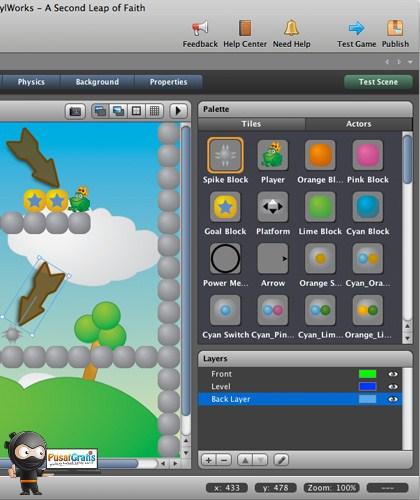 Buat Game Flash Sendiri Untuk iOS Sendiri Dengan Stencyl 2.0