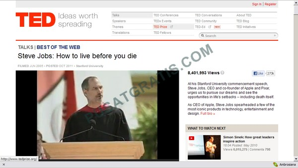 Mencari dan Mendownload Banyak TED Video Sekaligus dengan TEDinator