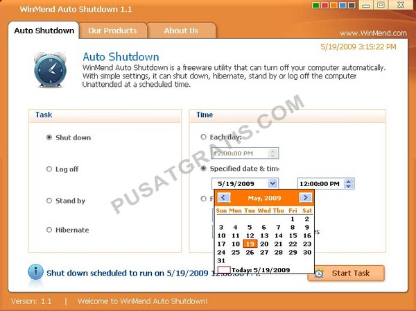 WinMend_Auto_Shutdown