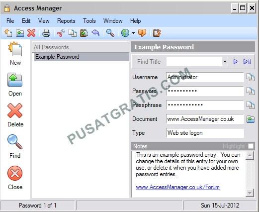 Jangan Biarkan Otak Meledak Karena Mengingat Banyak Password, Gunakan Saja Access Manager!