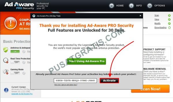 Dapatkan Lisensi Ad-Aware Personal Security Senilai $15