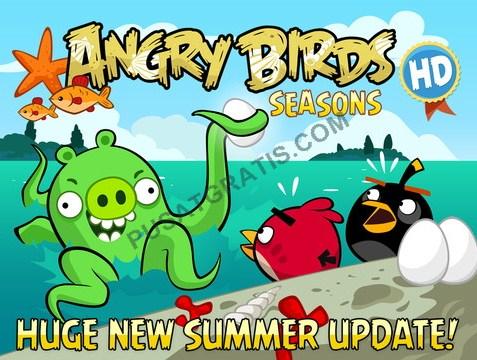 Download Angry Birds Seasons untuk iOS Secara Gratis!