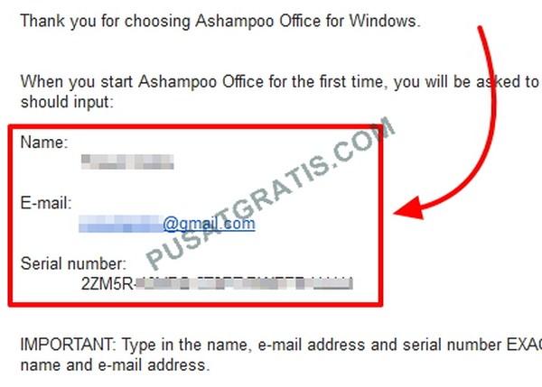 Dapatkan Lisensi Ashampoo Office 2010 Secara Gratis dan Legal