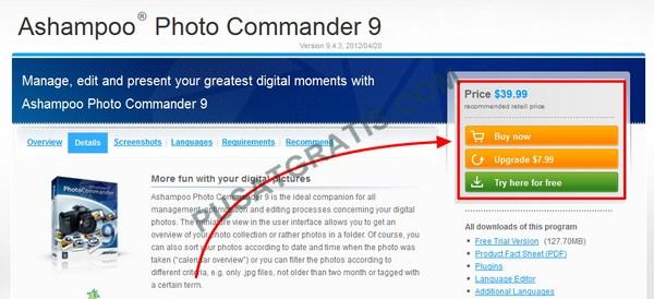 Dapatkan Lisensi Ashampoo Photo Commander 9 Senilai $39.99