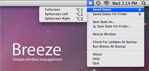 Hot Mac Giveaway: Dapatkan Breeze untuk Mac Senilai $8!