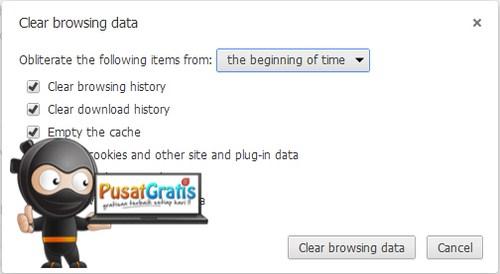 Cara Menghapus Data Browsing Google Chrome Secara Otomatis Setiap Menutup Browser