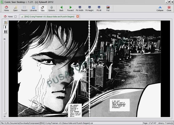 Membaca dan Mengakses e-Comic dengan Lebih Mudah Menggunakan Comic Seer