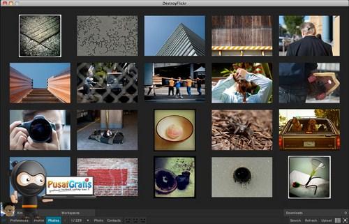 DestroyFlickr: Mengakses Flickr Langsung dari Desktop