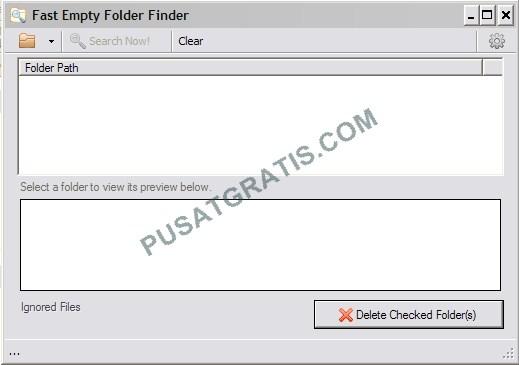Menghapus Folder Kosong di PC secara Cepat dan Mudah dengan Fast Empty Folder Finder