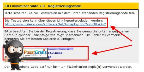Dapatkan Lisensi Legal FILEminimizer Suite 7 Senilai 78 Euro!