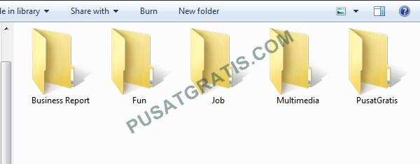 Folder itu Membosankan..Kita Warnai Aja Yuuk!